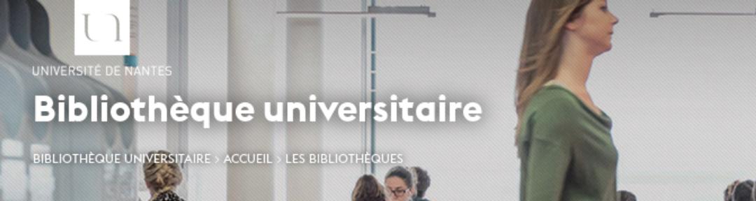 Université de Nantes Bibliothèques