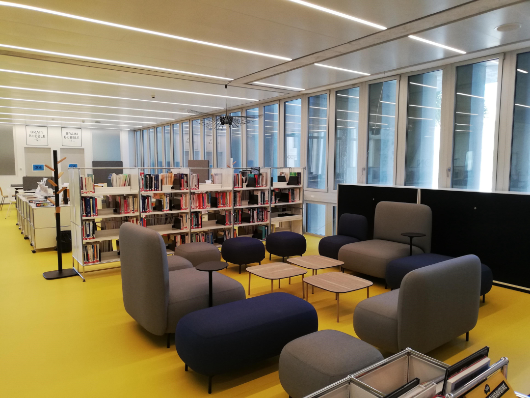 Le Cube Library