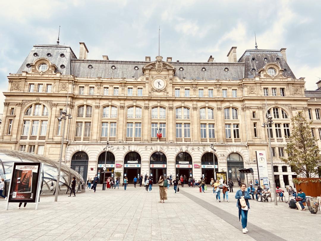 Gare Saint-Lazare (COMPLET)