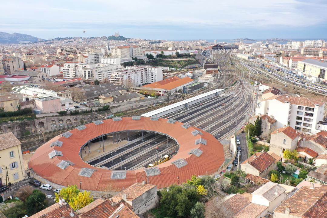 SNCF - Rotonde de Pautrier